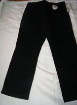 Gap Kids Gap Shield Black Uniform Pants Size 6 Husky - New - $11.40