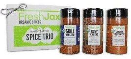 Organic Grilling Spices 3 Pack Gift Set: Beef Spices - $24.99