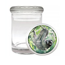 Cute Sloth Images D1 ODORLESS AIR TIGHT MEDICAL... - $10.84