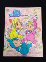 1975 Whitman Original Itsy Bitsy Beans Mattel Baby Doll Paper Dolls Uncut - $18.65