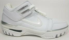 Nike Air Zoom Generation Low White 308573 111 Basketball Mens Shoes SZ 9... - $89.99