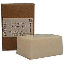 Eczema/Psoriasis Certified Organic Soap Bars - 3 Pack (13.05 ounces) GMO... - $20.45