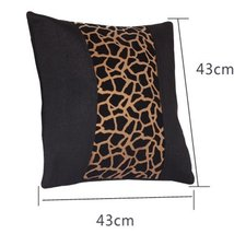 PANDA SUPERSTORE Fashion Design Leopard Lumbar Support/Back Cushion/Throw Pillow