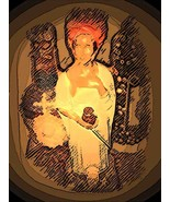 MARIE LAVEAU Grants Wishes TALISMAN VOODOO AMUL... - $49.00