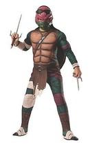 Teenage Mutant Ninja Turtles Deluxe Muscle-Chest Raphael Costume Child's... - £15.50 GBP