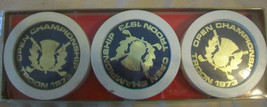 Vintage 1973 British Open Royal Troon Golf Course Set Of 6 Coasters - $92.81