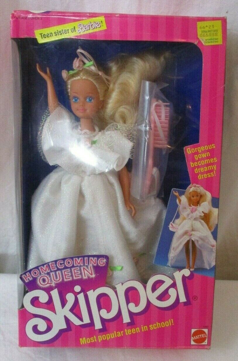 Primary image for 1988 NIB Vintage HOMECOMING QUEEN SKIPPER Barbie Doll