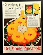Vtg 1952 Del Monte pineapple recipe retro advertisement print ad art - $11.83