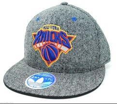New York Knicks adidas NBA Basketball 2 Tone Adjustable Stretch Fit Cap Hat S/M - $20.85