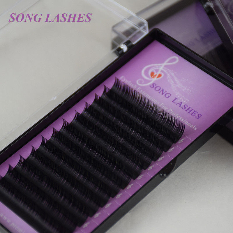 Primary image for SONG LASHES® False Eyelash Extensions Soft Thin Tip B,C,CC,D 0.10 Thickness