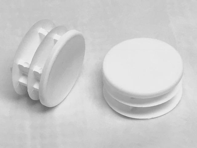 "Primary image for 1.5"" Round Multi-Gauge Flat Inserts (set of 4) - Choose Black or White!"