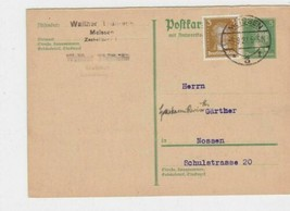 germany 1927 meissen  stamps card ref r13582 - $7.26