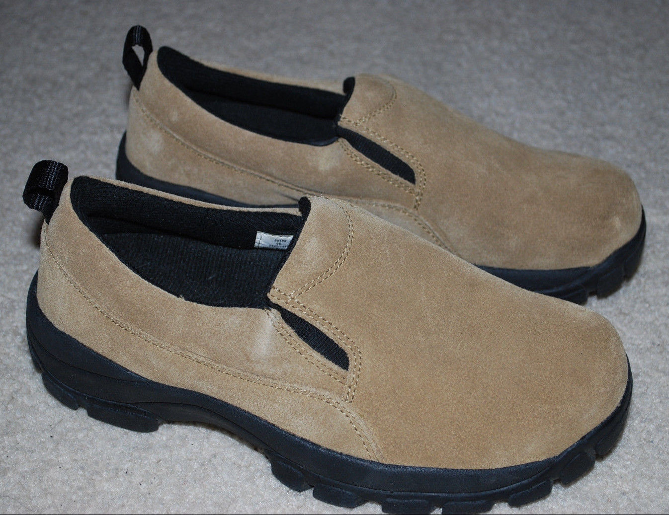 fe74cd661e14 Lands End Shoes Ladies 6 B Tan Suede Black and 50 similar items. S l1600