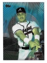 1998 Topps Mystery Finest Andruw Jones Atlanta Braves Insert Card #M18 - $0.98