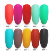 Matte Color Manicure Powder Nail Dipping Powder Nail Art Decorations  07 image 7