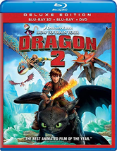 How to Train Your Dragon 2 [3D + Blu-ray + DVD]