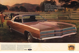 Vintage 1969 2-Page Magazine Ad Ford This Year Is Unlike Any You've Ever Seen - $5.93