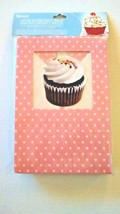 Tovolo Cupcake Cookie 6 Gift Boxes Polka Dot Pastel Pink & Blue Goodies ... - $11.99