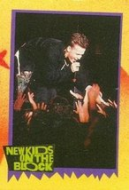 Donnie Wahlberg trading card (New Kids on the Block) 1989 Topps #85 - $4.00