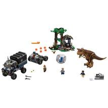 LEGO Jurassic World Carnotaurus Gyrosphere Escape Plastic Kids Construct... - $84.99