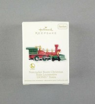 "Hallmark 2012 Tree Ornament ""Lionel Nutcracker Route Christmas Train Locomotive"" - $16.82"