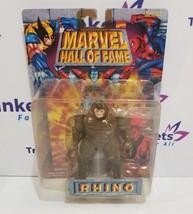 "Marvel Hall of Fame RHINO 6"" Action Figure Toybiz 1996 - $10.99"