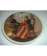 Norman Rockwell A Mothers Pride Mothers Day Plate 1980 Vintage - $12.99
