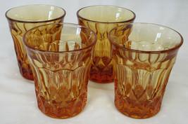 Noritake Perspective Amber Flat Juice Tumbler 3 3/8, Set of 4 - $30.58