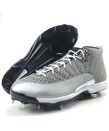 Jordan Baseball Cleats Size 16 Mens XII 12 Jumpman Metal Nike Metallic S... - $49.95