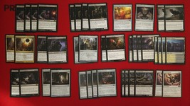 MTG Budget Modern Black White Bogbrew Witch Festering Bubbling Theme Deck Magic - $21.95