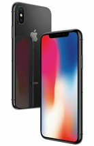 Apple iPhone X 256GB Mobile Smart iOS phone Space Gray Black Unlocked A1901 A image 1