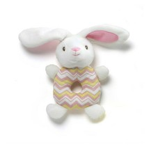 G By Gund Easter Ring Rattle Bunny - Pink - $12.95