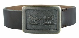 NEW LEVI'S MEN'S STYLISH GENUINE PREMIUM LEATHER BELT COLOR TMORO 11LV02SB