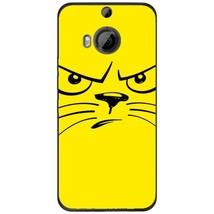 Angry Smiley Cat HTC M9 Plus Phone Case - $15.99