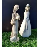 2 Style NAO by LLADRO Spain Porcelain Figurine Glazed  - $0.95