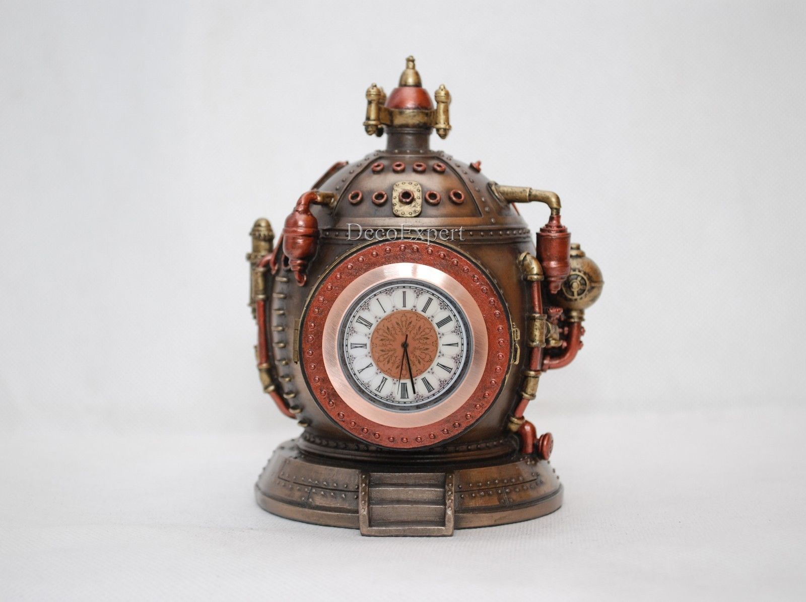 Steampunk Time Machine Clock with Secret Trinket * Free Shipping Everywhere *