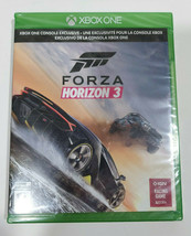 Forza Horizon 3 Xbox One Brand New Factory Sealed Racing 4K Ultra HD HDR  - $23.27