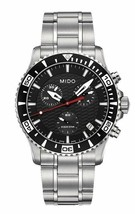 Mido Men's M011.417.11.051.02 Ocean Star Captain Stainless Steel Quartz ... - $598.60