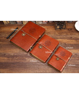Notebook Diary Notepad Vintage Pirate Anchors PU Leather Note Book Repla... - $5.77+