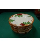 "Beautiful FRANCISCAN ""Apple"" Set of 10 BREAD-SALAD-DESSERT  Plates 6.25"" - $52.06"