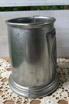 1897-1972 Vintage SIGMA PI Wilton RWP Tavern Tankard Stein Mug Cup Pewter USA  - $34.28