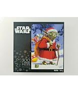Disney Star Wars Puzzle Santa Yoda 300 pcs by Buffalo Games - $20.40