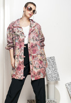 Pink parka - 90s vintage windbreaker jacket - $39.97