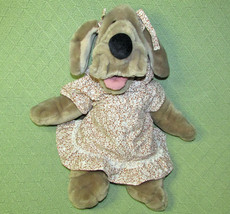 "Ganz Wrinkles Vintage Girl Hand Puppet 18"" Original Clothes Plush 1981 Toy Doll - $32.71"