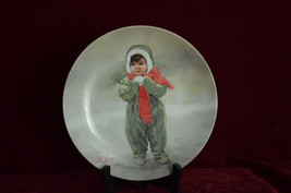 """""""Winter Angel"""" 3rd issue Wonder of Childhood Collector Plate Donald Zola... - $4.23"""