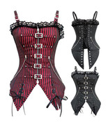 Women Shaper Striped Training corset and Bustiers Control Body - $35.99