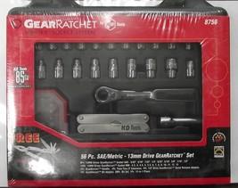 "KD Tools 8756 56 Pcs 1/4"" Dr. SAE & Metric GearRatchet Vortex Socket Set - $37.62"