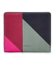 New Fossil Women's Emma Rfid Mini Wallet Variety Colors