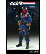 Sideshow Collectibles GI Joe 12 Inch Deluxe Action Figure Cobra Officer - $221.76