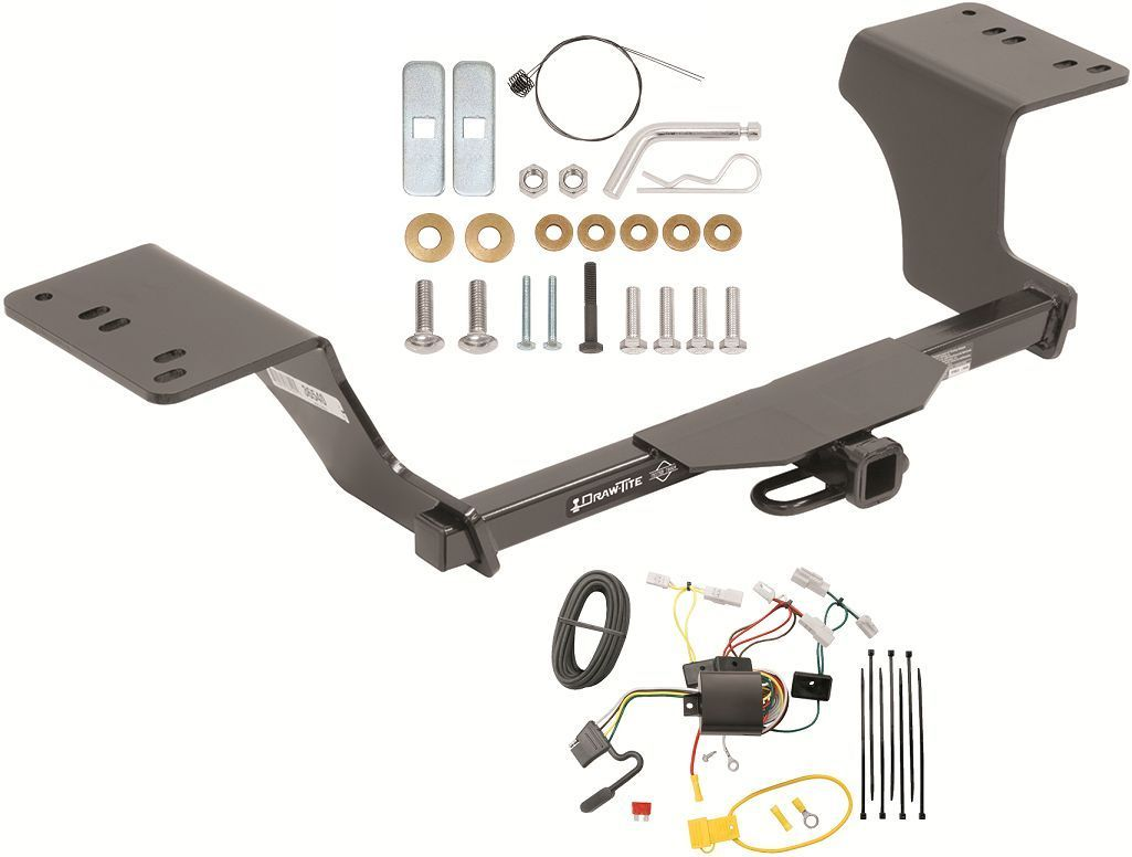 Magnificent Trailer Hitch W Wiring Kit Fits 2012 2017 And Similar Items Wiring 101 Cranwise Assnl